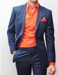 Prendas de Color Naranja para hombre