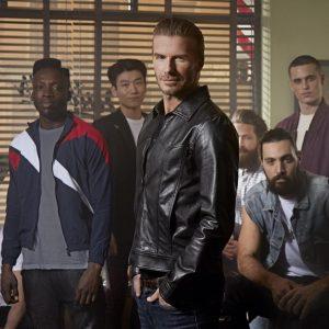 David Beckham presenta su línea de cosméticos de cuidado masculino