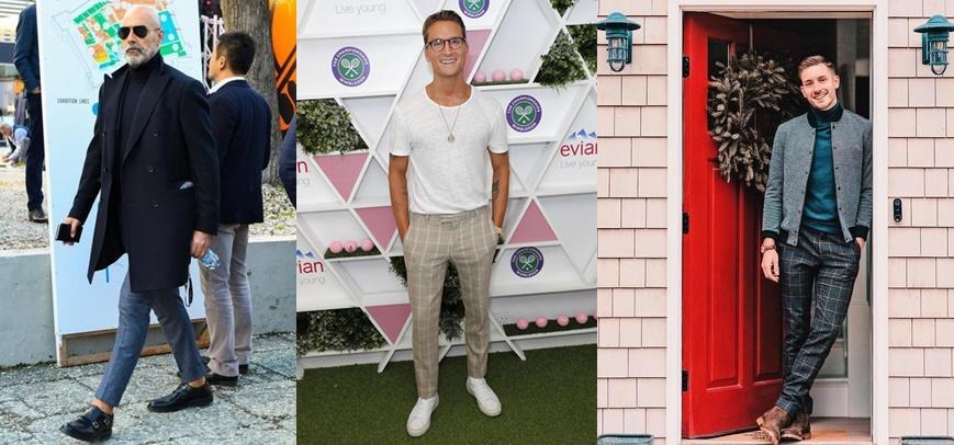 Cómo usar un pantalón de cuadros sin parecer un jugador de golf